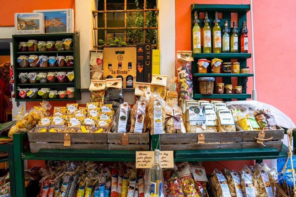 Souvenir Stand in Vernazza, Cinque Terre
