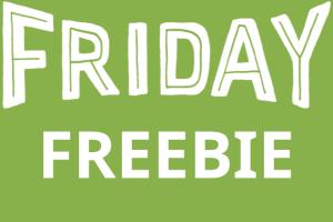 friday freebie