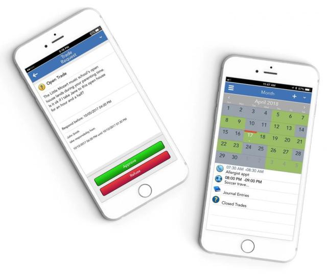 The Ofw Trade Swap And Parenting Schedule Tools Are Just Two Of The Many Features
