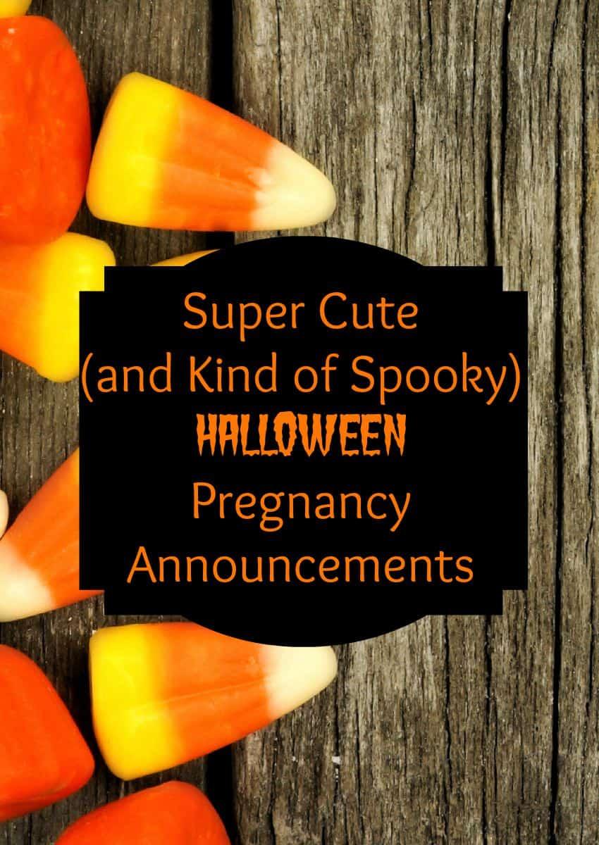 Halloween Pregnancy Announcements Ideas