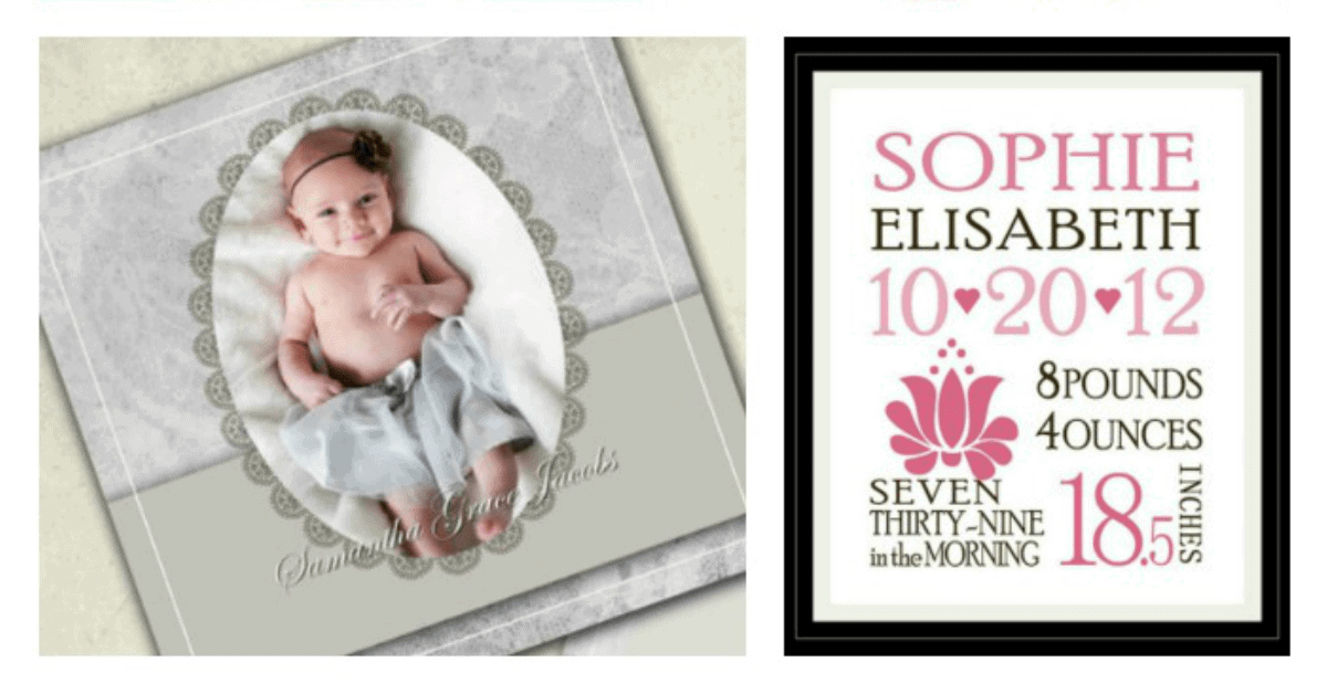 5 Places To Find Downloadable Birth Announcement Templates