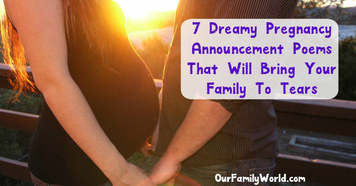 7 Dreamy Pregnancy Announcement Rhymes And Poems