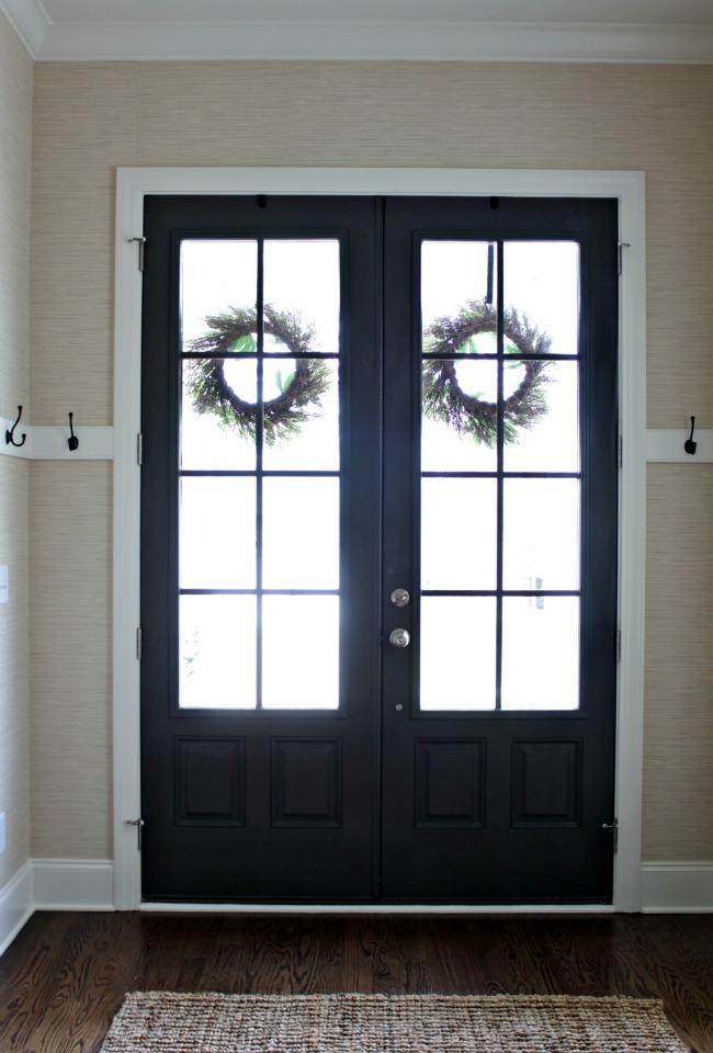 Exquisite Front Entry Doors At Home Depot Fiberglass: Painted Interior Front Door