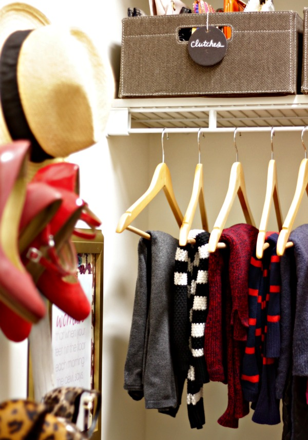 master closet organized