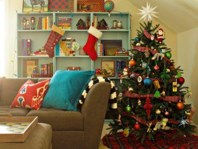 DIY No Sew Christmas Tree Skirt
