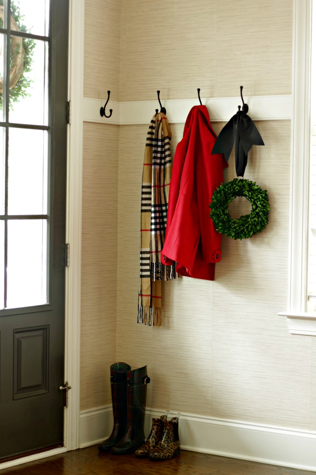 Christmas home tour - entry foyer