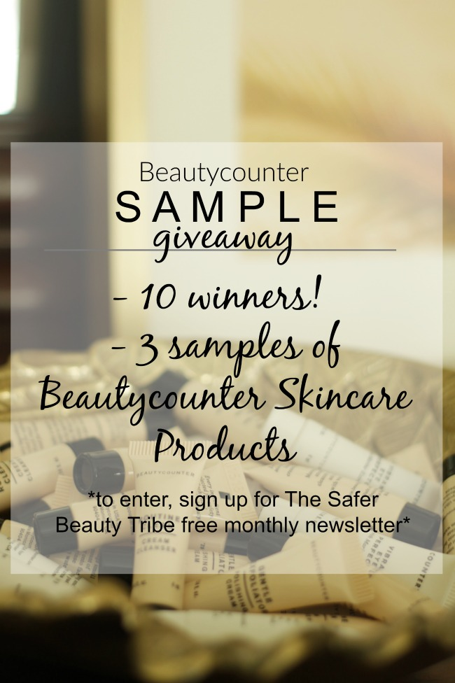 beautycounter - skincare samples