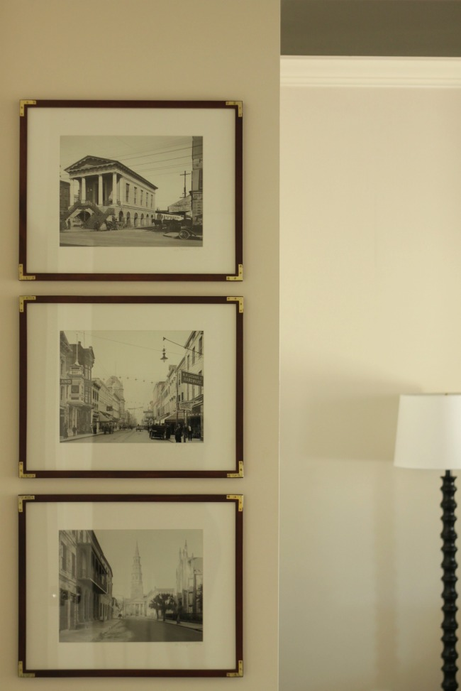 Quick DIY: Gold Corner Frames - Our Fifth House