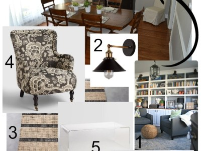 Design Dilemma – Converting a Dining Room into a Living Room