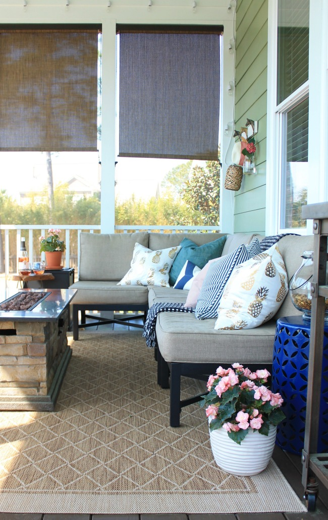 screen porch tour