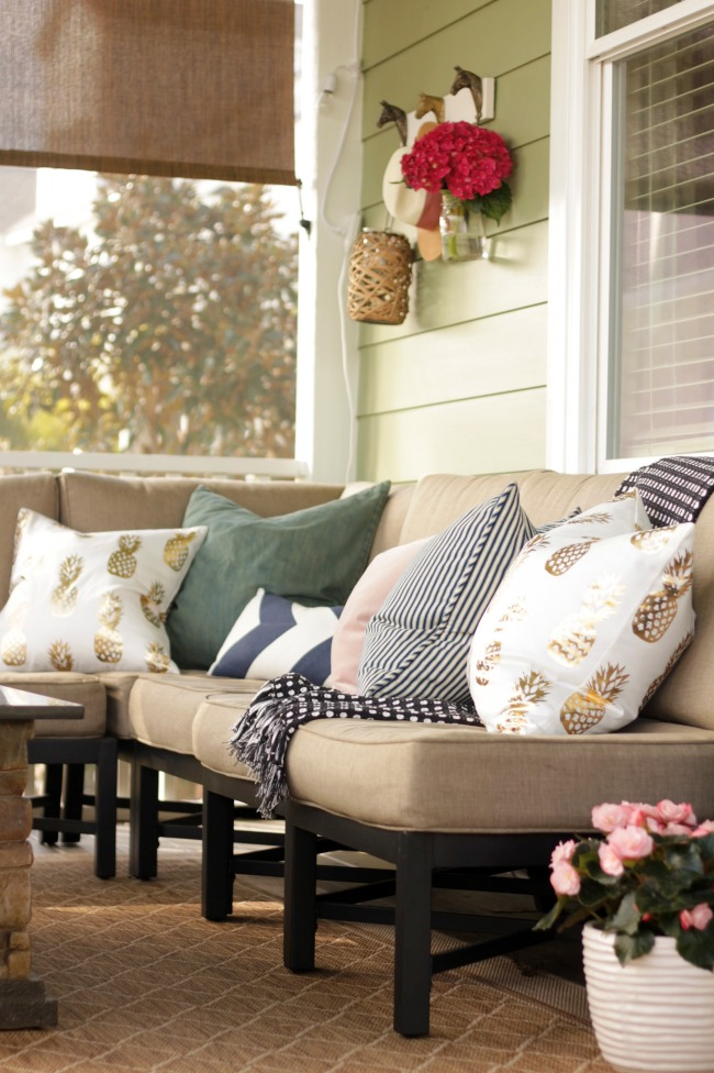 spring screen porch tour