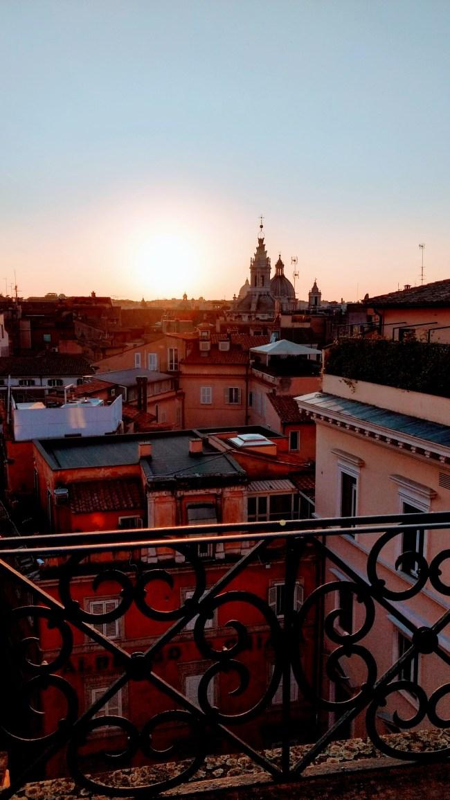 rome minerva rooftop