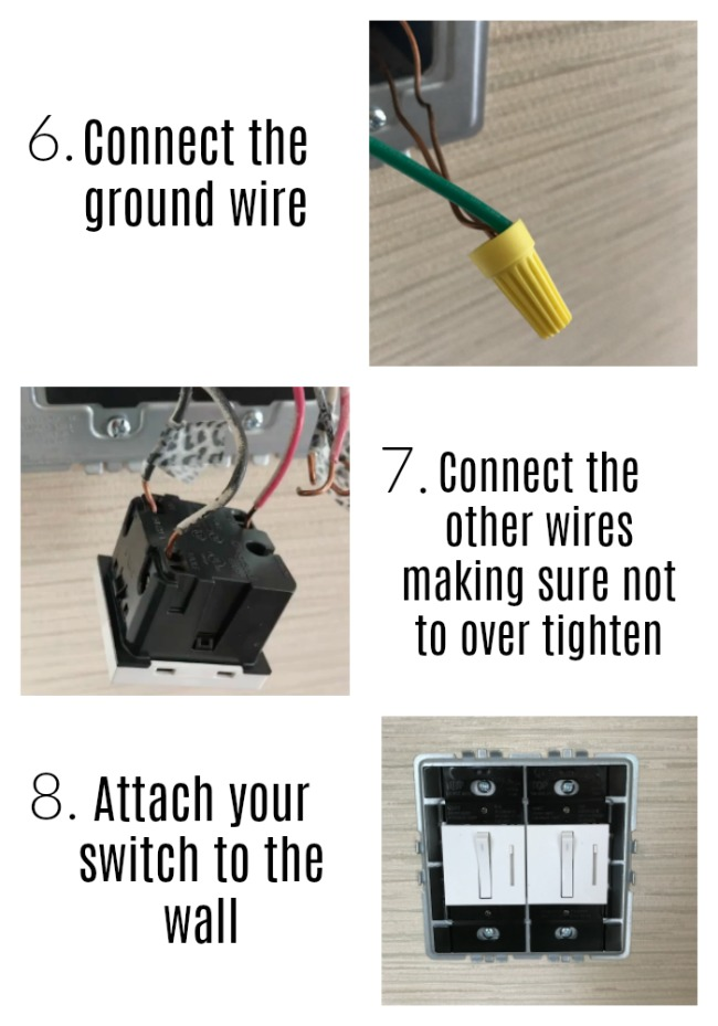 how to install a new switch