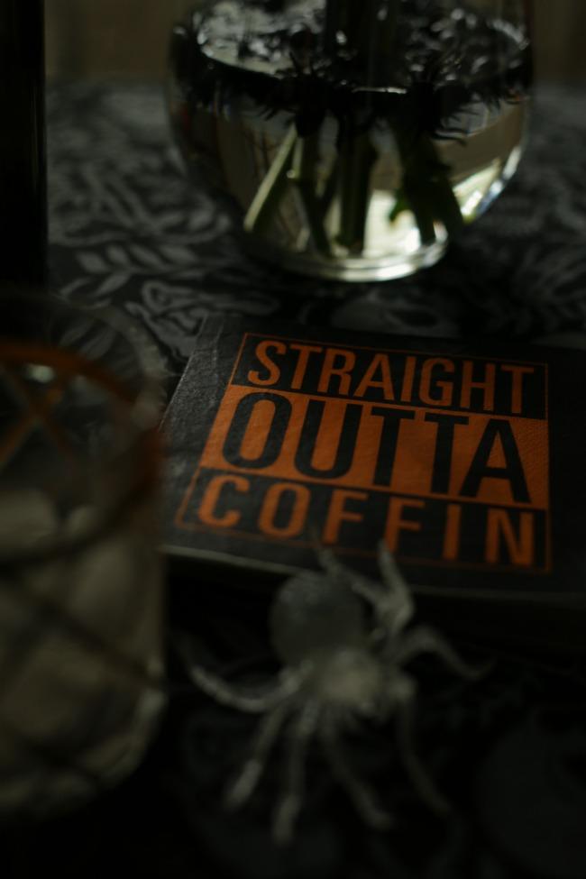 halloween cocktail napkins