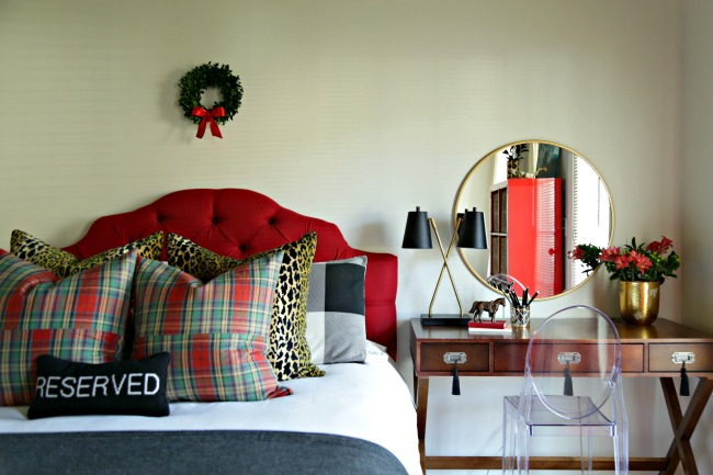 guest room holiday ready