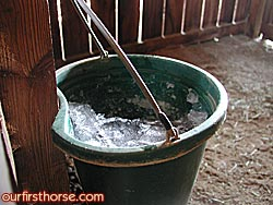 Bucket Ice - bucket heater?