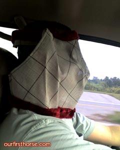 Bill in Fly Mask