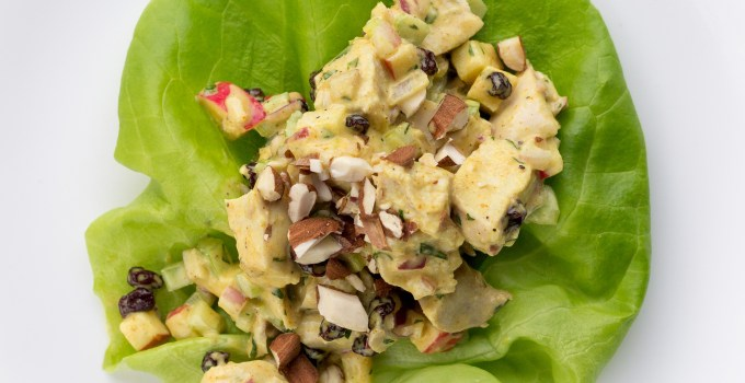 Lunch Staple: Paleo Curry Chicken Salad