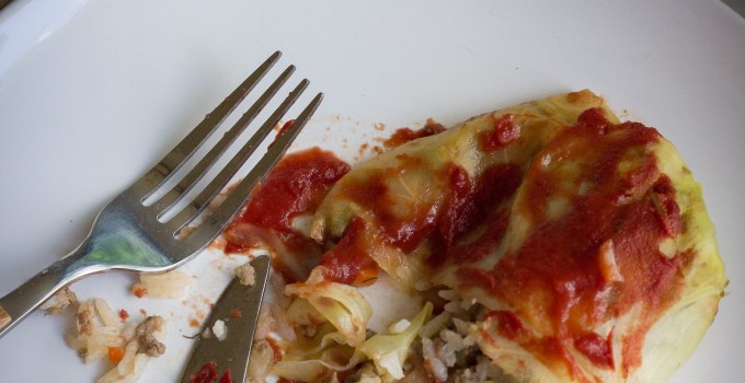Pigs in a Blanket aka Cabbage Rolls {Gluten-free + Paleo option}