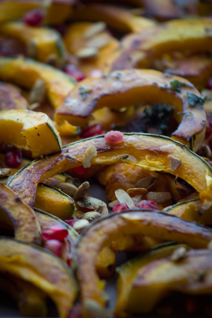 Roasted Squash Salad with Sage Brown Butter
