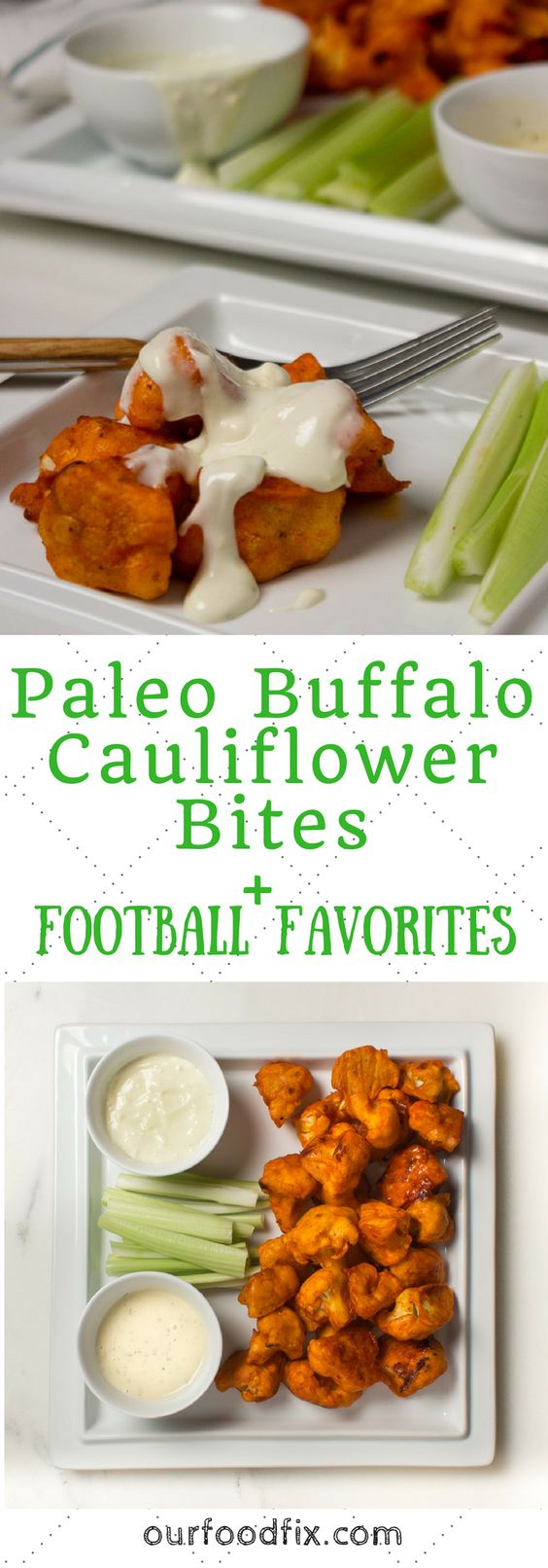 Football food | Football recipes | Football fare | Party food | Appetizer recipes | Snack recipes | Paleo recipes | Gluten free recipes | Grain free recipes | Dairy free recipes | Low carb recipes | Vegetarian recipes | Buffalo sauce | Super Bowl
