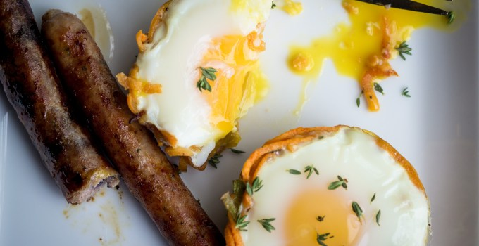 Sweet Potato Egg Nests {Paleo, Gluten Free, Low Carb}