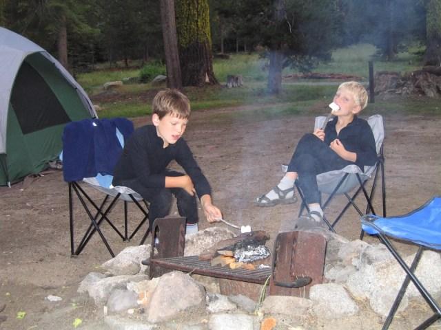 Annual camping ritual