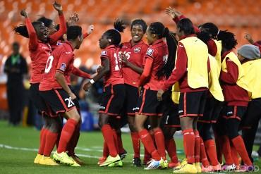 Trinidad & Tobago players