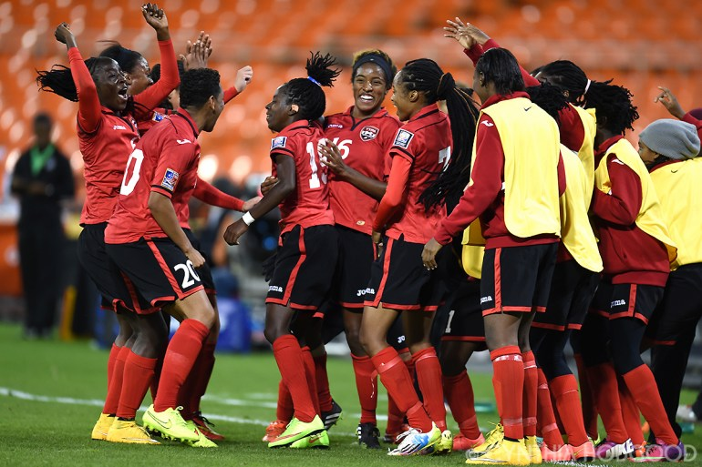 Trinidad & Tobago players