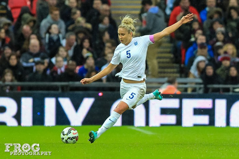 England captain Steph Houghton.