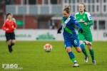 Babett Peter for Wolfsburg.