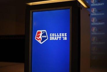 2016 NWSL College Draft podium