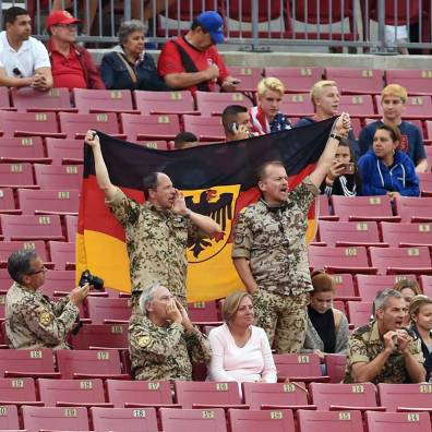 Support for Germany.