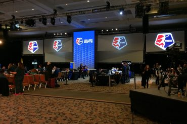 2016 NWSL College Draft event