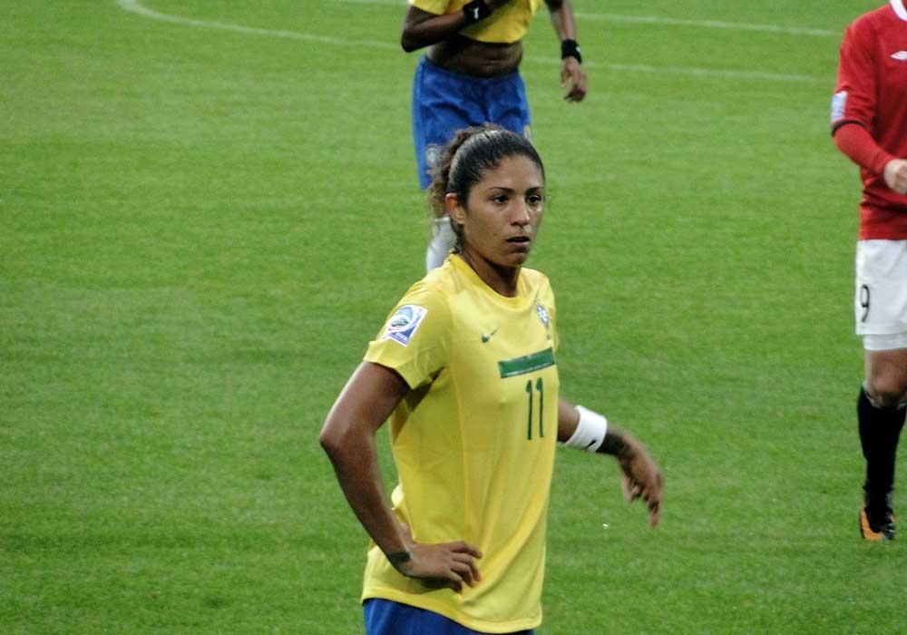 Cristiane for Brazil by Allen Patrick.