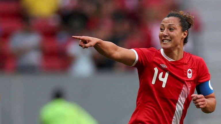 Melissa Tancredi for Canada.