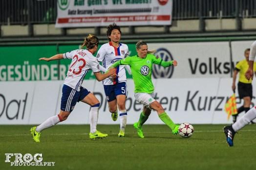 Wolfsburg's Lara Dickenmann.