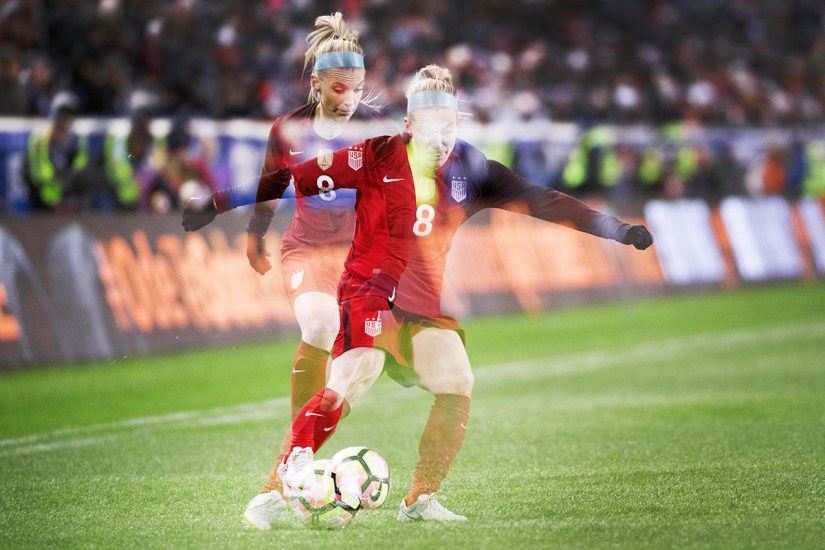 Julie Johnston by Monica Simoes.