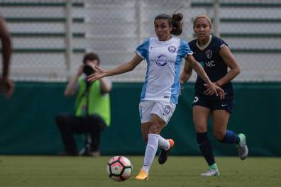 Marta looks for options. (Shane Lardinois)