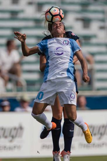 Marta in the air. (Shane Lardinois)