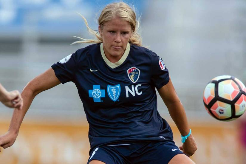 North Carolina Courage's Makenzy Doniak. (Shane Lardinois)
