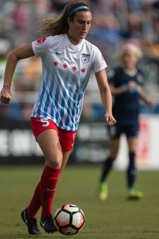 Katie Naughton of the Chicago Red Stars. (Shane Lardinois)