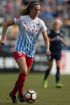 Katie Naughton of the Chicago Red Stars. (Shane Lardinois)