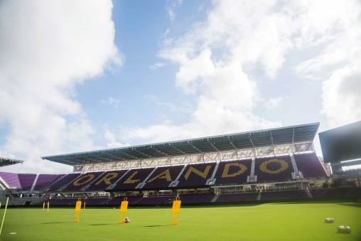 Orlando City Stadium, host of the 2017 NWSL Championship. (Monica Simoes)