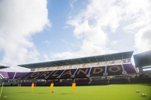 Orlando City Stadium, host of the 2017 NWSL Championship. (Monica Simoes)