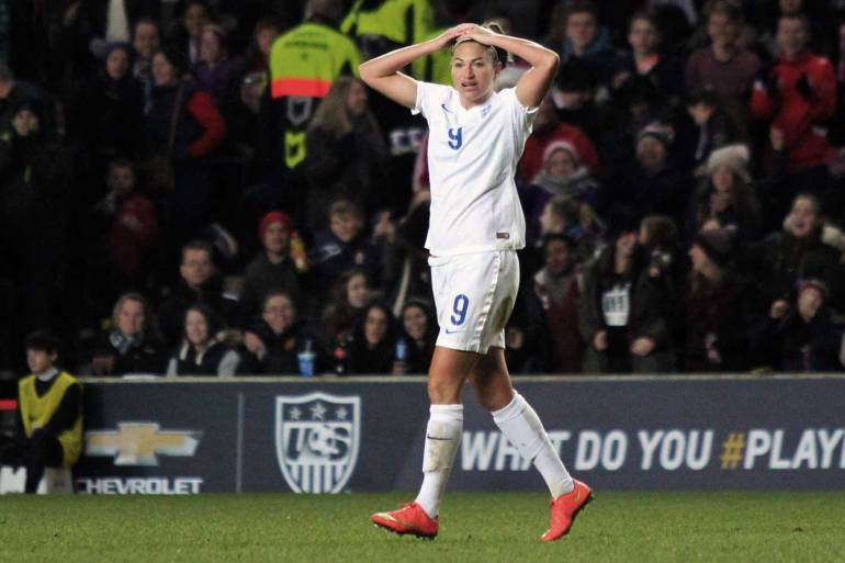 England's Jodie Taylor (joshjdss, wiki commons).