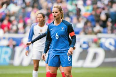 France's Amandine Henry during the 2018 SheBelieves Cup. (Monica Simoes)