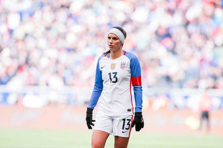 Alex Morgan. (Monica Simoes)