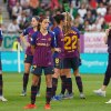 Barcelona disappointed after losing in the 2019 Champions League match. (Daniela Porcelli / OGM)