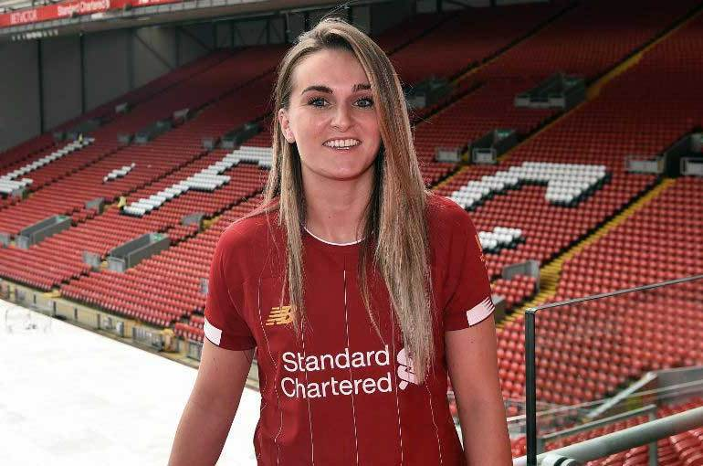 Mel Lawley for Liverpool FC. (Liverpool FC)